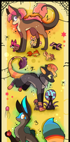 FREE DtA adoptables CLOSED by Roxalew