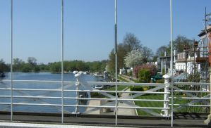 The river Thames at Marlow bucks over the bridge by Sceptre63