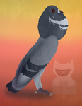 Pigmy Pouter by Ink--Beast