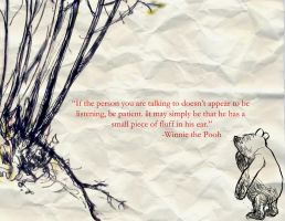 Pooh Bear by southernxnitemare