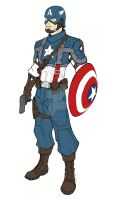 Oh Captain America by KevinRaganit