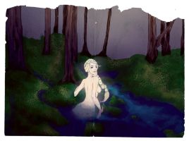 Melusina in the forest by Zoopaki