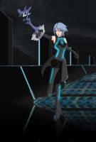KH Tron Legacy Aqua by G-FalconDX