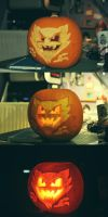 Haunter Pumpkin by FlutStop