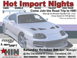 Hot Import Nights Flier by kmfdmk