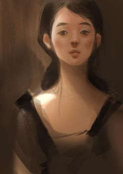 portrait of brown by r-pre