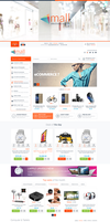 Mall Market Electronic Store Cs-Cart 4 Theme by mysticthemes