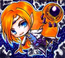 Chibi commission: Lorcan by Nekkohime