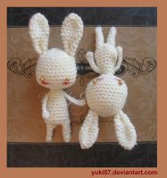 ArtTrade: 2x Mini Bunnies by Yuki87
