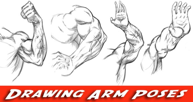 How to Draw Arms - Comic Book Style by robertmarzullo