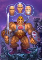 Heman Motu:toy master by kidchuckle