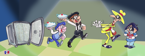 Le Quadruple Trouble by Granitoons
