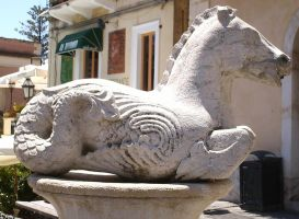 WATER-HORSE Sculpture, Taormina, Sicily by alivethroughart
