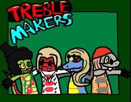 Treblemakers Album Cover by Crystalthepegasus