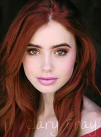 Lily Collins Clary-ized by avatar-fangirl