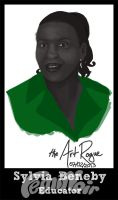 #FemiNoir DAY 7 - Sylvia Beneby by TheArtRogue