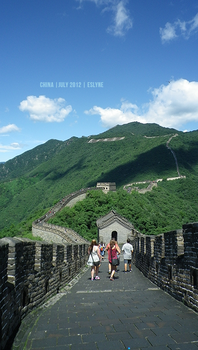 The great wall of China V2 by AliasNightmare