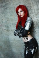 Katarina- You want a fight !? by xK-I-T-S-U-N-E