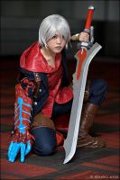 Devil May Cry 4: Knight by dorkodile