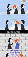 BDC:Why Bill don't like Snape by Remus-Chocolade