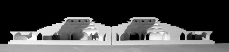 mosque model by Karimi