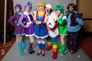 Rainbow Brite - All-Con 2012 by MandyNeko