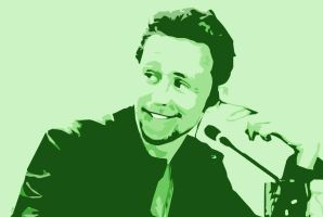 Hiddleston. Green. by Moonicee