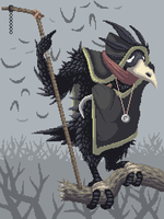 The Crow man by SaintBonkers