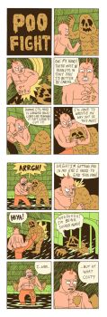 POO FIGHT: THE COMIC by Teagle