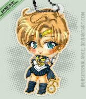 [OLD] Super Sailor Uranus Keychains by ImHisEternalAngel