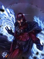 Magneto - Rudy Vasquez by ZhouRules