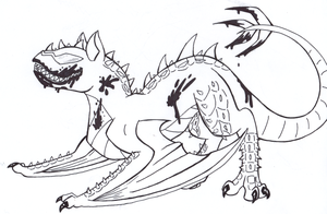 Demon... Dragon... Thing... by DrUmMeR-GuY