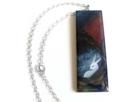 The Sunrise - Pendant Necklace by sobeyondthis