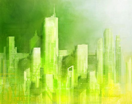 Green City by yty2000