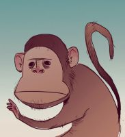 monkeybsnss by andrahilde