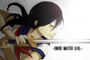 SWORD MASTER GIRL2 by nanasie