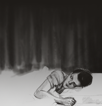 Girl Interrupted Study by aalta