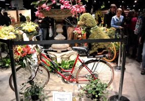 014 Boston Flower Show,Bike of Blossoms and Beauty by Miss-Tbones