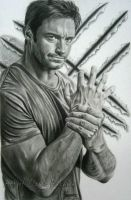 Hugh Jackman by cLoELaLi11