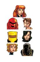 MSH Hero Profile Black Widow spot characters 3 by bennyfuentes