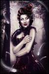 The lady of darkness by Cynnarafly
