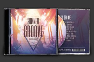 Summer Groove CD Cover Artwork by styleWish