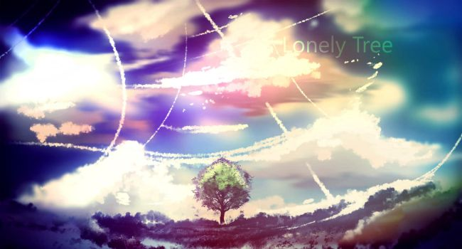 Lonely Tree by ryky