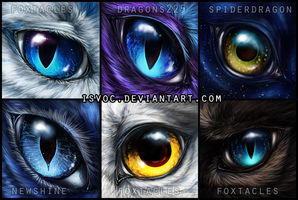 Eye Icons II by Isvoc