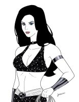 Commission - Donna Troy by BloodTalonHero