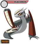 Digimon Inferno: Placomon by BlackHawkNova