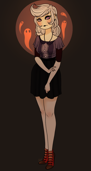 A monster called Lenore by MaryLittleRose