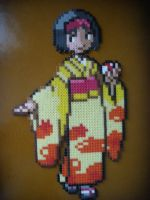 Perler Beads, Erika by DarkTangrowth