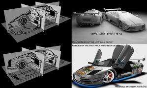 Murcielago Blueprints by ragingpixels
