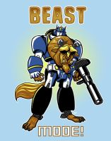 Beast Mode by ninjaink